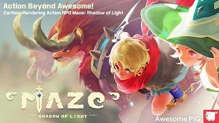 """Maze: Shadow of Light - Game hành động """"chặt chém"""" đồ họa 3D cực ấn tượng cho Mobile"""