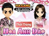 yulgang hiep khach - [Trang Phục Hiệu Ứng] Thời Trang Hoa Anh Đào (06.2021) - 09062021