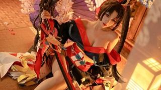 Phát sốt với cosplay Yêu Đao Cơ lấp ló ngực khủng đốt mắt fan hâm mộ