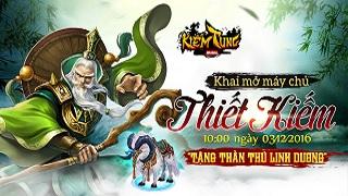 Playpark tặng 300 Giftcode game Kiếm Tung Mobile