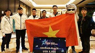 VN AllStar lên ngôi Á quân CFS 2017