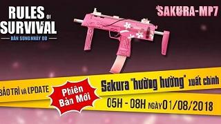 ROS mobile: Update mới - Sakura MP7 xuất chinh