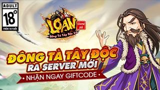Playpark tặng 200 Giftcode game Đông Tà Tây Độc