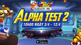 GunBound M sẽ Alpha Test 2 từ 10h00 ngày 3/4