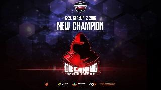CF2L mùa 2 2018: CB Gaming chính thức lên ngôi tân vương