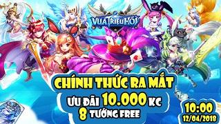 Dzogame tặng 300 Giftcode game Vua Triệu Hồi