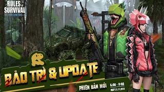 ROS Mobile update: Rocket RPG chính thức xuất hiện tại bản đồ thi đấu 120 người