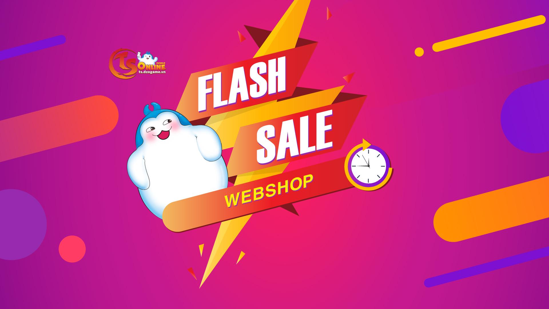 Sự kiện Webshop Flash Sale – 22/09