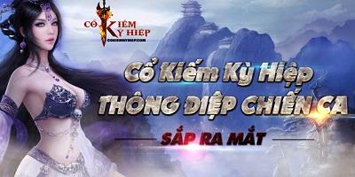 Cổ Kiếm Kỳ Hiệp – Game tiên hiệp 'độc' sắp ra mắt game thủ Việt