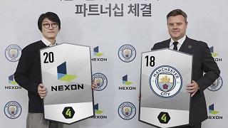 Manchester City chính thức hợp tác với Nexon phát triển FIFA Online 4