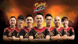 Tuyển Liên Quân Mobile Sài Gòn Phantom đổi tên thành Swing Phantom sau khi nhận tài trợ khủng từ Swing