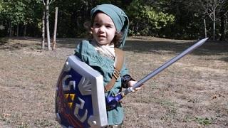 Legend of Zelda – Link với phiên bản nhí 3 tuổi ngoài đời thật