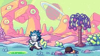 Đoạn giới thiệu về Rick and Morty ở đồ họa 8-bit: Một game đáng mơ ước nhất