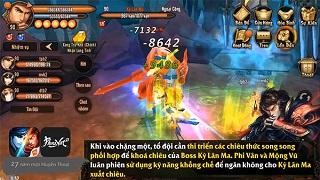 Phong Vân 3D - Chiến thuật đánh boss Lăng Vân Quật cấp thường