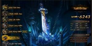 Webgame Phong Vân: Cuồng Đao Tuyết Ẩm mang hàn băng phủ khắp giang hồ