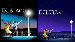 """Thích thú với poster phim tại giải Oscar được """"biến hóa"""" dành riêng cho game thủ"""