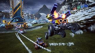 Game đua xe bắn súng Switchblade mở cửa miễn phí trên Steam