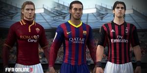 Fifa Online 3: Những tiền vệ tấn công hoàn hảo