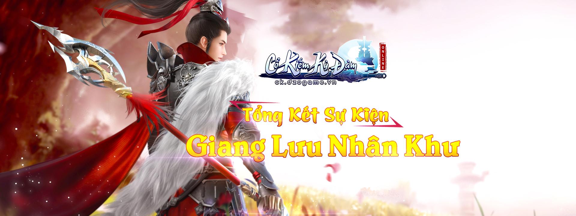 banner top TỔNG KẾT SỰ KIỆN GIANG LƯU NHÂN KHƯ