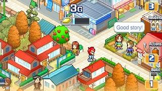 Dream Town Story -Tựa game giả lập xây dựng cực dễ nghiện từ Kairosoft
