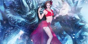 Hotgirl Andrea hóa thân vào vai Pháp Sư trong game Chiến Linh