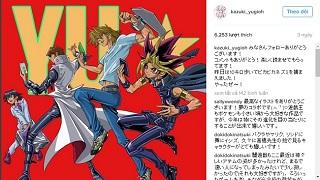 Tác giả của Yu-Gi-Oh cho các nhân vật của mình chơi Pokemon GO