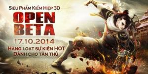 Thế giới võ hiệp Tân Thiên Long 3D đã mở rộng cửa