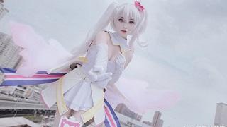 Mê mẩn cosplay Mu tinh khôi đầy gợi cảm trong anime Caligula
