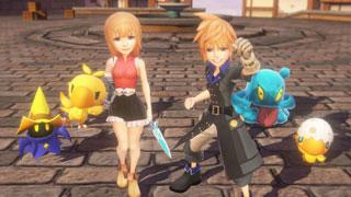 World of Final Fantasy - game nhập vai nhái theo phong cách Pokemon của Square Enix