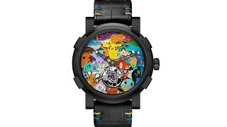 Gần 6 tỷ đồng cho chiếc đồng hồ Pokemon cực xấu