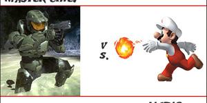 Khi Mario một mình chống lại Lara Croft, Master Chief và Connor
