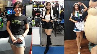 Tổng hợp: Những cô nàng xinh đẹp tại Taipei Games Show