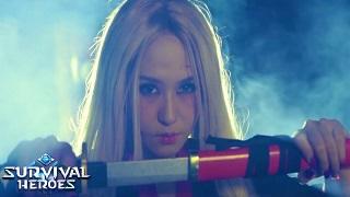 """Suzie ra MV Rapdizz dằn mặt Vanh Leg và Độ Mixi để giành ngôi vị """"đồ tể"""" trong Survival Heroes"""