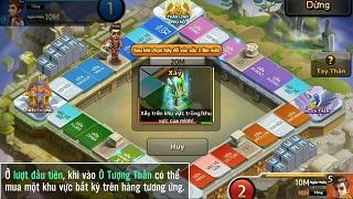 Cận cảnh bản đồ Tay Thần đặc sắc trong 360mobi Cờ Tỷ Phú