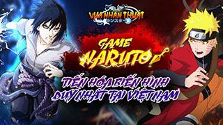 Vua Nhẫn Thuật - Game Naruto tiến hóa biến hình đã về Việt Nam