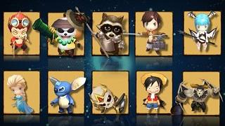 Biệt Đội Rồng - Tựa game tập hợp anh hùng One Piece, Kim Dung, Avengers, Disney về Việt Nam