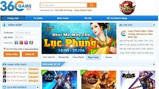 Cổng 360Game – mảnh đất mới cho fan webgame