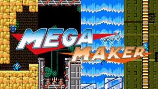 Thỏa sức sáng tạo Mega Man với Mega Maker