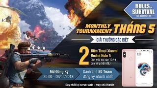 ROS Mobile Monthly Tournament mở đăng ký tối nay