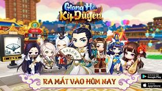 Game võ hiệp MMORPG Giang Hồ Kỳ Duyên ra mắt vào hôm nay