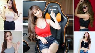 """Nữ gamer nổi tiếng nhất làng game Thái Lan 2017 """"đãi mắt"""" NHM"""