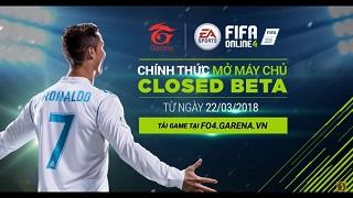 FIFA Online 4 mở tải, chính thức Closed Beta ở Việt Nam tuần này