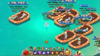 """Giải nhiệt mùa hè với """"bãi biển riêng"""" của webgame Đại Kiếm Vương"""