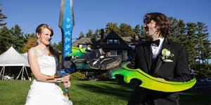 Ấn tượng lễ cưới theo kiểu World of Warcraft