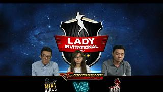 Vòng loại CFL Lady Invitational: Hấp dẫn và đầy kịch tính