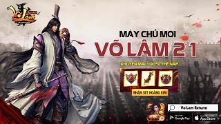 Playpark tặng 300 Giftcode game Võ Lâm Returns