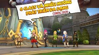 6 class nhân vật mà game thủ có thể hóa thân khi trải nghiệm Dragon Nest Mobile – VNG