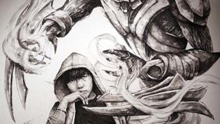 Triển lãm nghệ thuật nghệ thuật Liên Minh Huyền Thoại