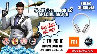 19h tối nay ROS Mobile Weekly Tournament có gì hot?