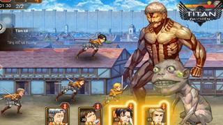 Titan Đại Chiến – Game hot tái hiện phim Attack on Titan cập bến Việt Nam